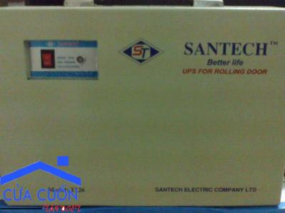 Lắp đặt và sửa chữa bộ lưu điện cửa cuốn SANTECH